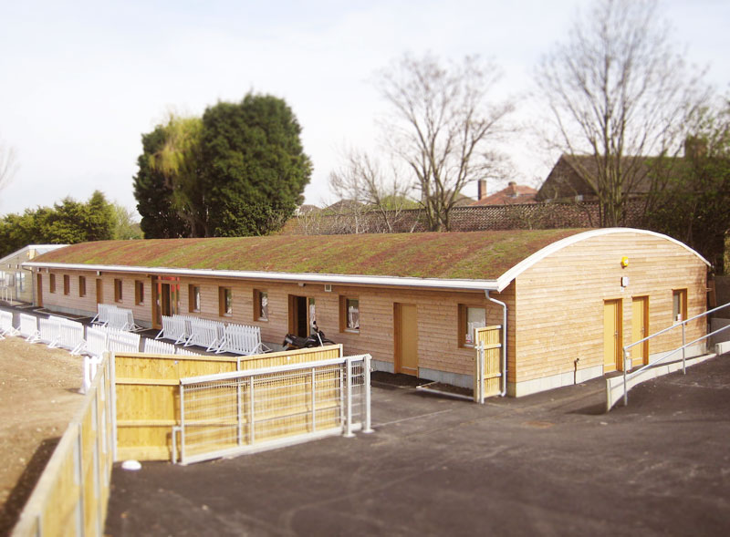Colfe's School Site Support Building | UK Construction